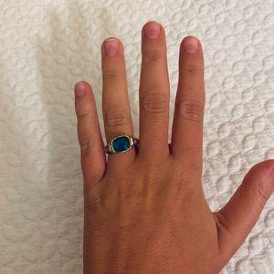 David Yurman Hampton Blue Topaz Ring